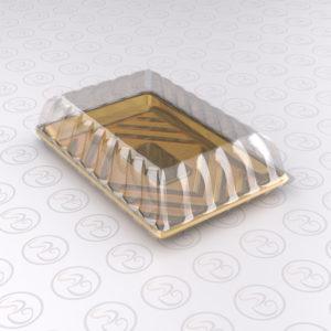 Alcas Kado Cake Tray 23.5 X16 cm