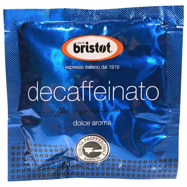 Bristot Espresso Decaf Pods (50/7b Packs)
