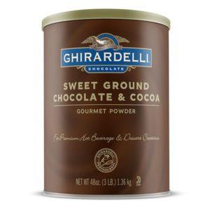 Ghirardelli Sweet Ground Chocolate & Cocoa Powder