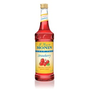 Monin Sugar Free Strawberry Syrup