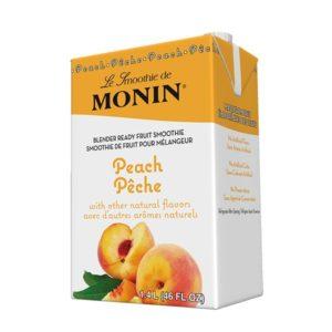 Monin Peach Smoothie
