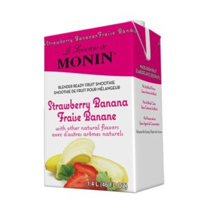 Monin Smoothie Strawberry Banana