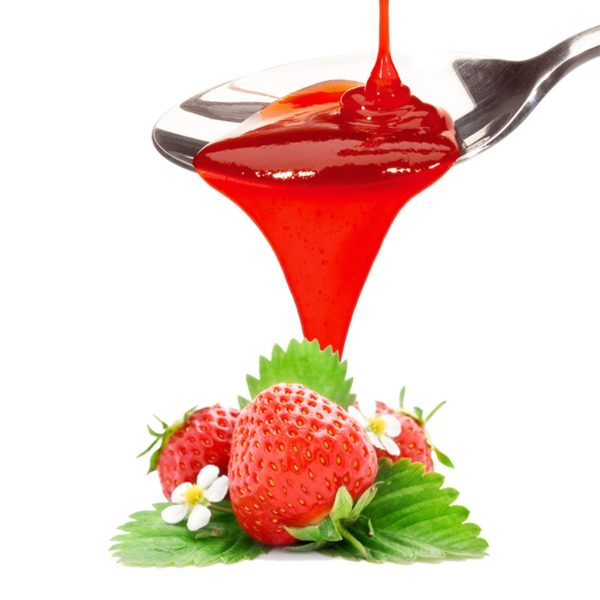 PreGel Strawberry Topping