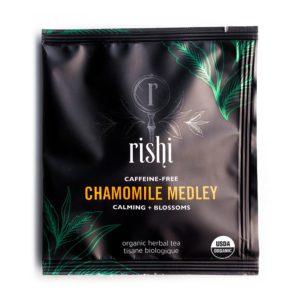 Rishi Chamomile Medley Tea Sachet (50 ct)