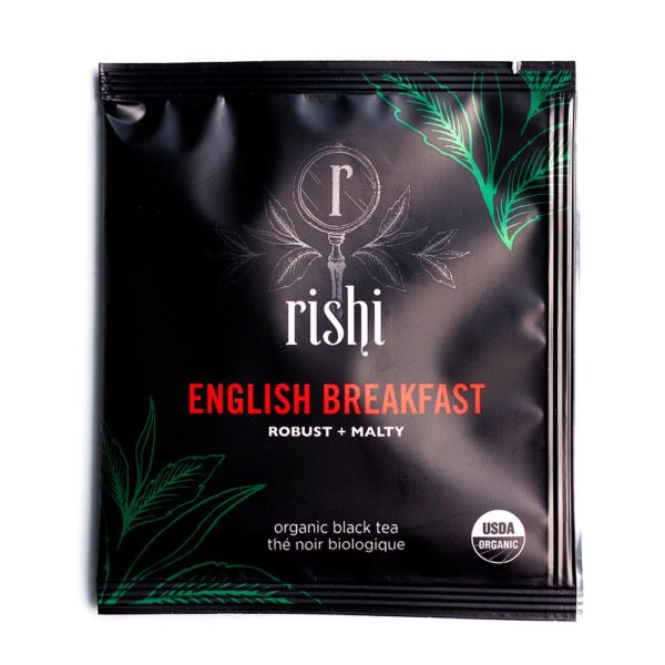 Rishi English Breakfast Tea Sachet (50 ct)
