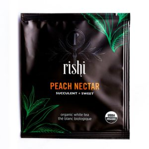Rishi Peach Nectar Tea Sachet (50 ct)