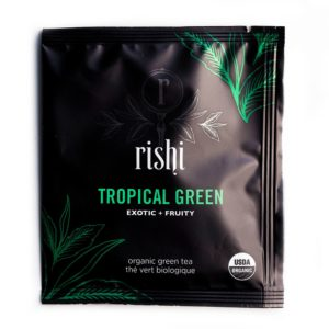 Rishi Tropical Green Tea Sachet (50 ct)